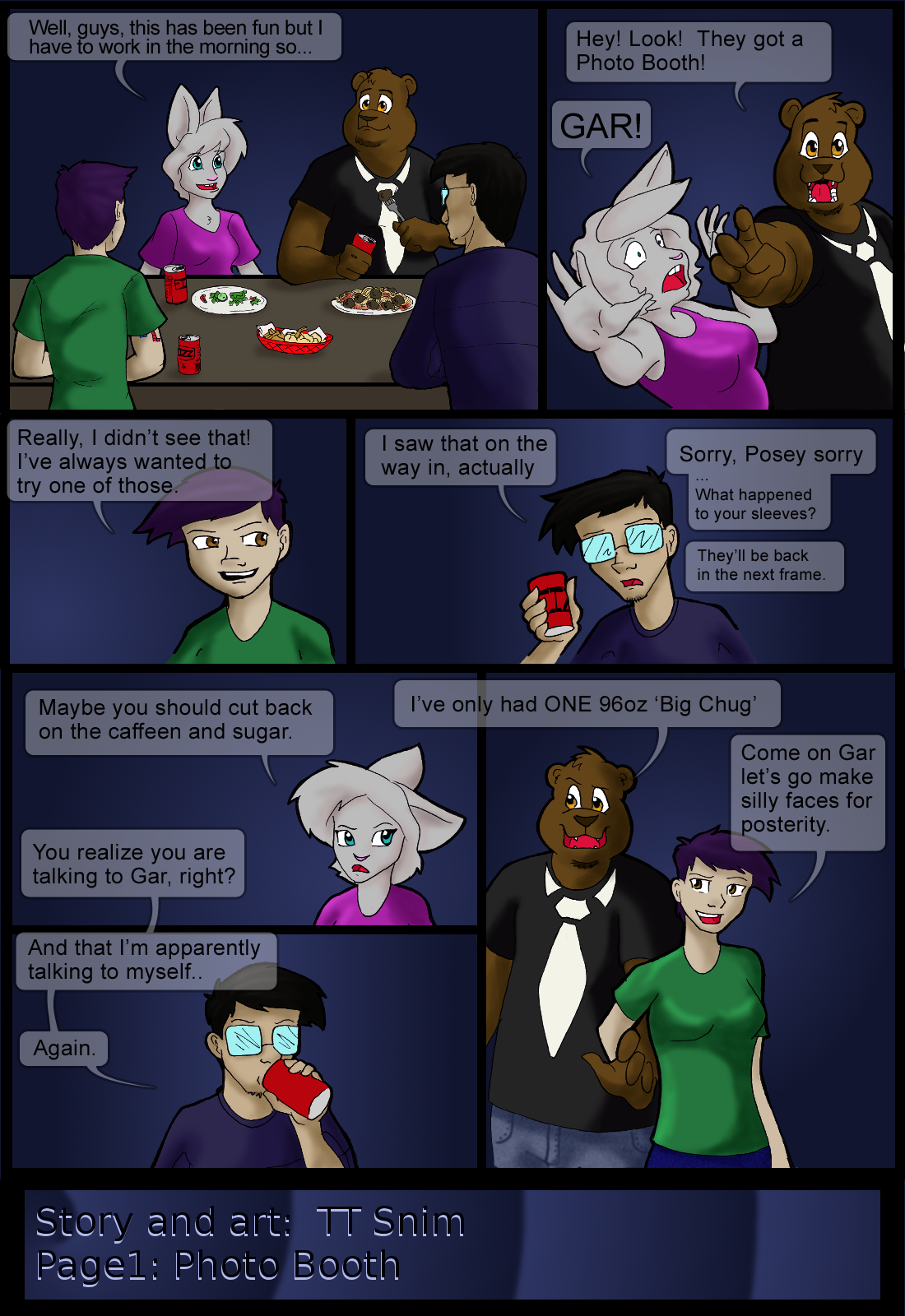 Guest Comic and also some Same Apartment News..
